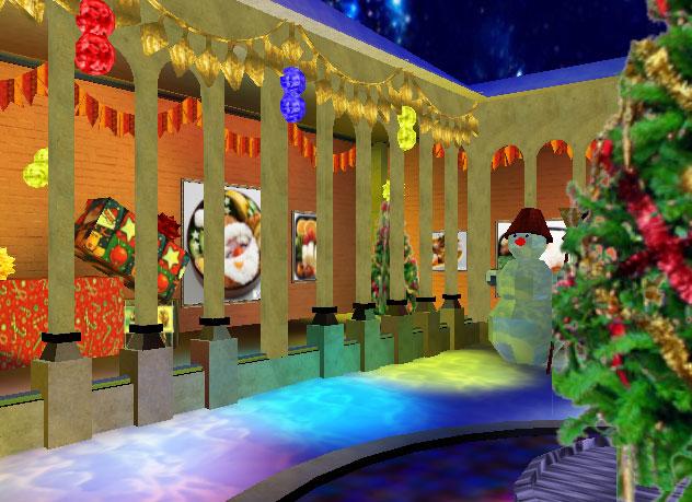 クリスマス特別展示館