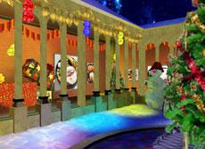 クリスマス特別展示館入口
