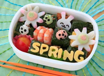 春が来た!弁当