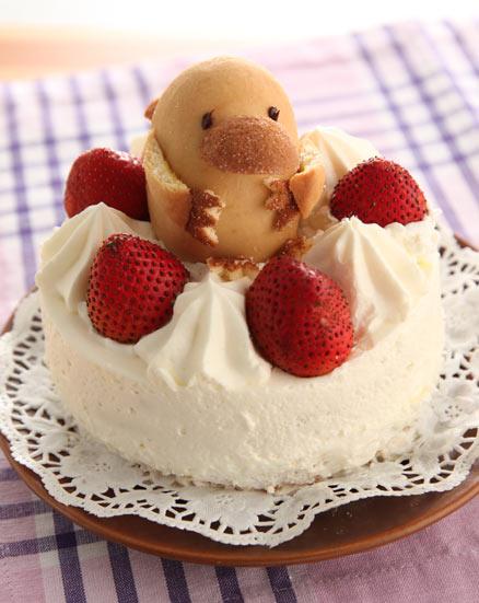 稲荷でカモノハシ ケーキ