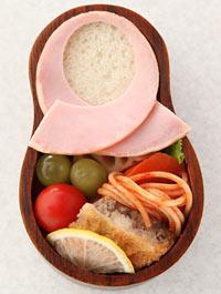 マトリョーシカ サンドイッチ