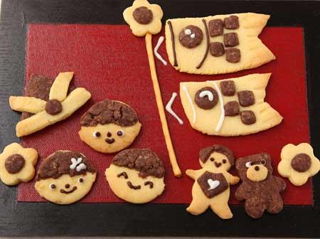 クッキーで鯉のぼり