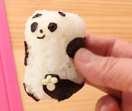 パンダのあかちゃんの作り方お見せいたします!