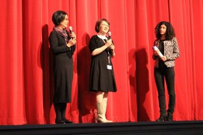 バリャドリッド国際映画祭で舞台挨拶