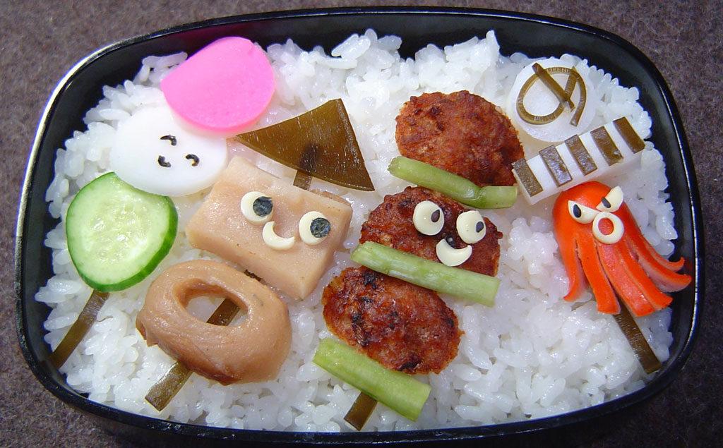 串の仲間弁当
