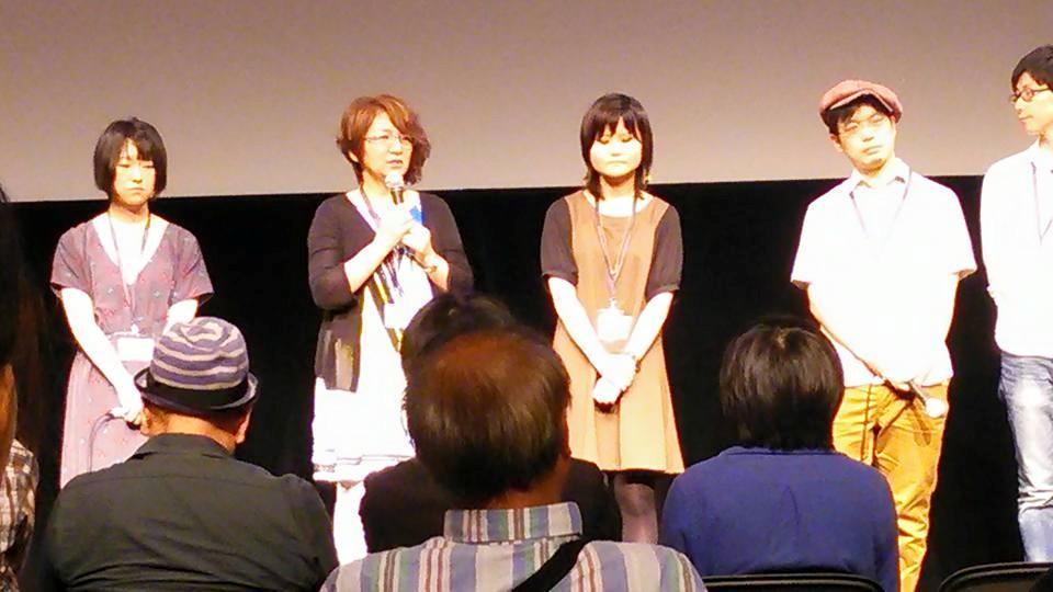 SKIPシティ国際Dシネマ映画祭で舞台挨拶