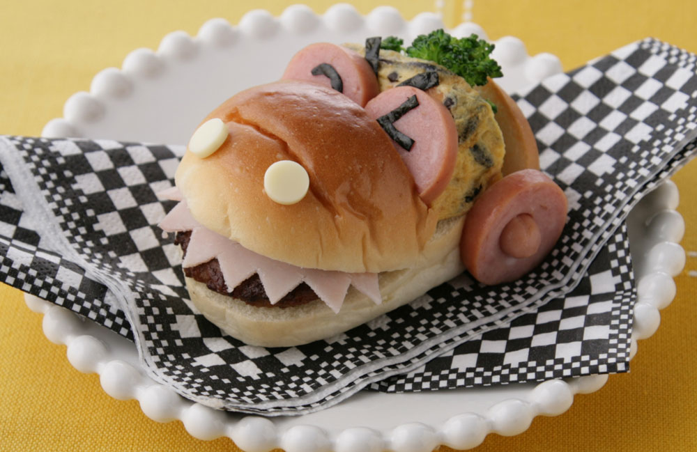 ワニカーのサンドイッチ