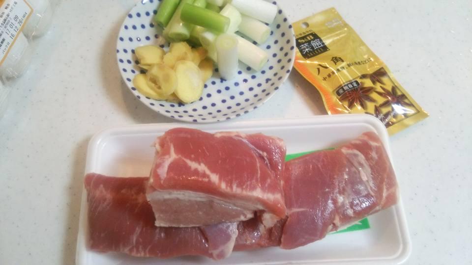 醤肉(ジャンロウ)の材料