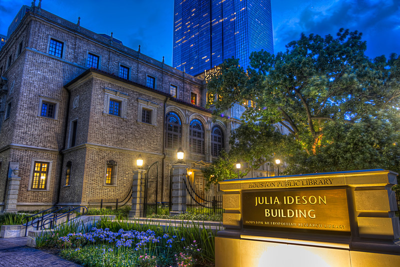 The Houston Public Library