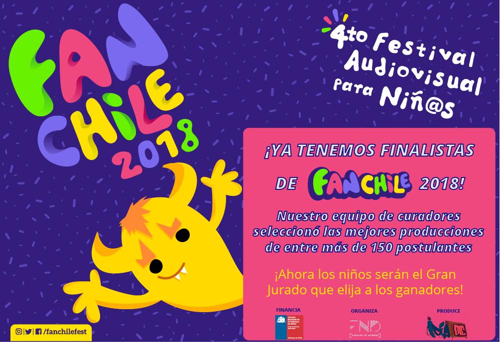 Festival audiovisuales para niños