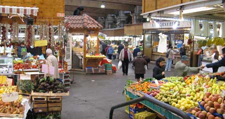 ジェノバの市場