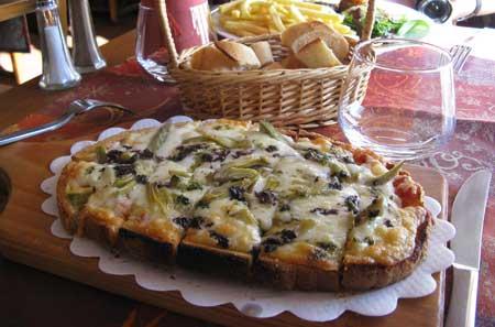 EZEのピザ
