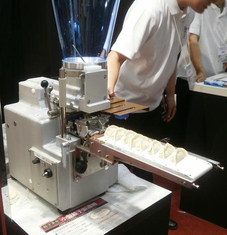 世界最小自動餃子作りマシーン