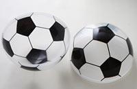 サッカーボールの綿飴