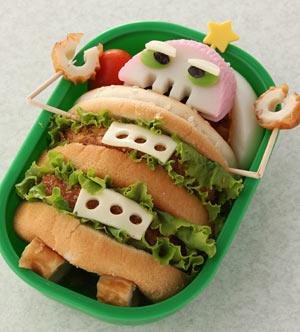 ハンバーガーでロボットを作る
