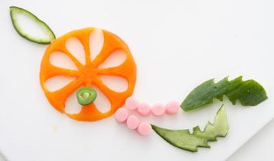 ドリームキャッチャー-野菜 飾り切り