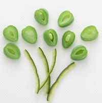 お花いろいろ-野菜 飾り切り