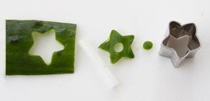 みかん 野菜 飾り切り