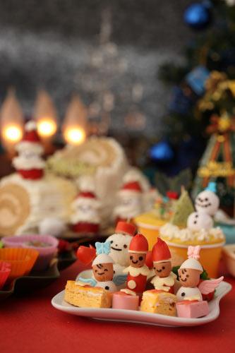 ウィンナーでクリスマス 飾り切り