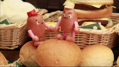 Twins in Bakery