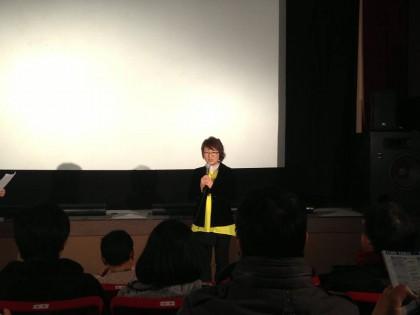 ゆうばり国際ファンタスティック映画祭で舞台挨拶