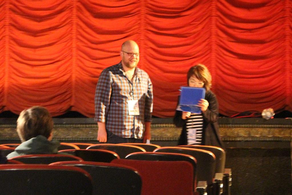 シカゴ国際子供映画祭で舞台挨拶