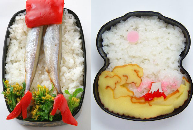 菜の花畑で仁王立ち♪ 荒波に赤富士