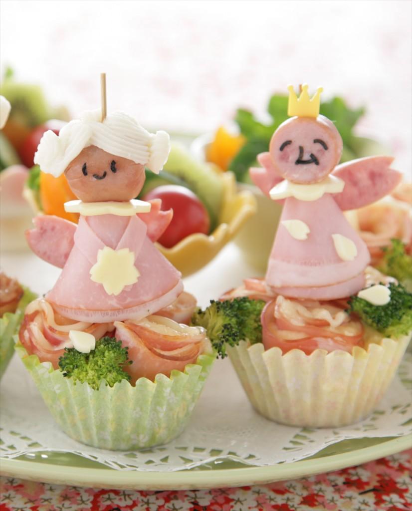 春をお祝いする妖精とハム係長