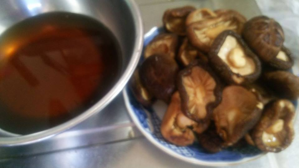 干し椎茸の含め煮